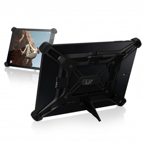 UAG Exoskeleton Adjustable Universal Tablet Case - Fits Most Large Android Tablets (up To 10in) - Black And Black