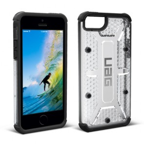 UAG Apple iPhone 5/iPhone 5s/iPhone Se Plasma Case - Ice And Black