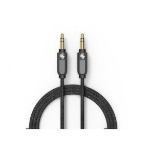 GeoSWISS Alloy Auxiliary Cable (4 ft.) Gunmetal