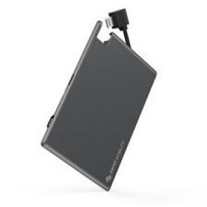 GeoSWISS Battery Card - Lightning Gunmetal