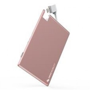 GeoSWISS Battery Card - Lightning Rose Gold