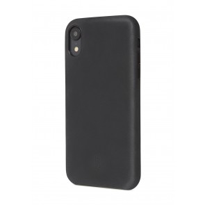 Decoded Leather Back Cover for iPhone XR (6.1 inch) Black
