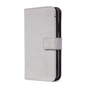 Decoded Recycled Leather Detachable Wallet iPhone 11 Pro Max (6.5 inch) Grey