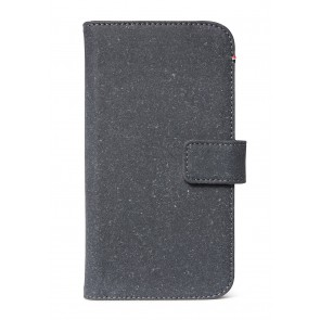 Decoded Recycled Leather Detachable Wallet iPhone 11 (6.1 inch) Antracite