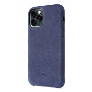 Decoded Bio Leather Back Cover iPhone 11 Pro (5.8 inch) Blue
