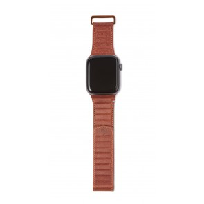 Decoded Leather Magnetic Traction Strap Series 5 / 4 (44mm) / 3 / 2 / 1 (42mm) Cinnamon Brown