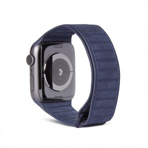 Decoded Leather Magnetic Traction Strap Series 5 / 4 (40mm) / 3 / 2 / 1 (38mm) Blue