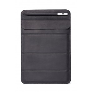 Decoded Leather Foldable Sleeve for iPad up to 11 inch Black