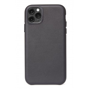 Decoded Leather Backcover iPhone 11 Pro Max (6.5 inch) Black