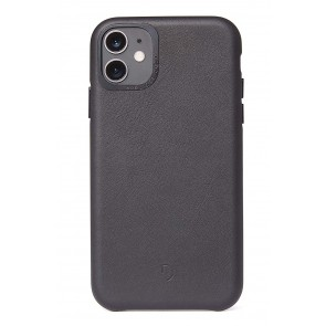 Decoded Leather Backcover iPhone 11 (6.1 inch) Black
