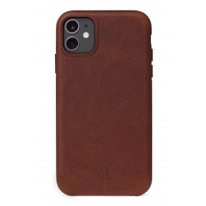 Decoded Leather Backcover iPhone 11 (6.1 inch) Brown