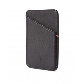 Decoded MagSafe Leather Card Sleeve Wallet Black