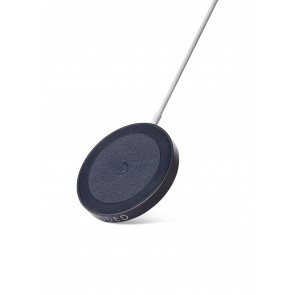 Decoded Magnetic Wireless Charging Puck 15W Navy