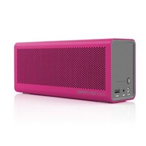 Braven 805 Wireless HD Bluetooth Speaker - Retail Packaging - Magenta/Gray