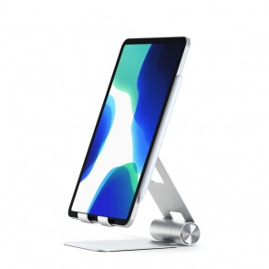 SATECHI R1 Adjustable Mobile Stand Silver