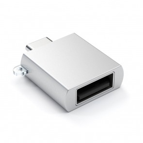 SATECHI Type-C - Type A USB Adapter Silver