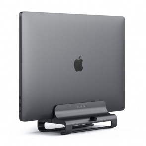 SATECHI Aluminum Vertical Laptop Stand Space Gray