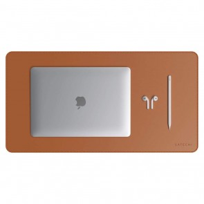 SATECHI Eco Leather Desk Mat Brown
