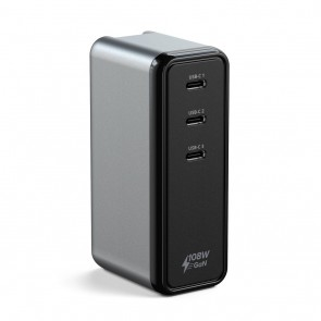 SATECHI 108W USB-C 3-PORT Wall Charger