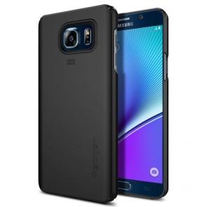 Spigen Galaxy Note 5 Case Thin Fit Black