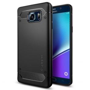 Spigen Galaxy Note 5 Case Capsule Ultra Rugged Black