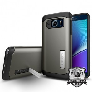 Spigen  Galaxy Note 5 Case Slim Armor Gunmetal