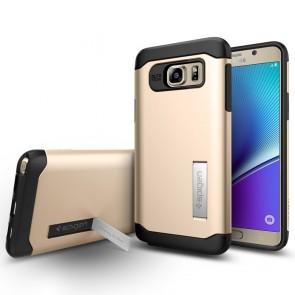 Spigen  Galaxy Note 5 Case Slim Armor Champagne Gold