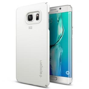 Spigen Galaxy S6 Edge Plus Case Thin Fit Shimmer White
