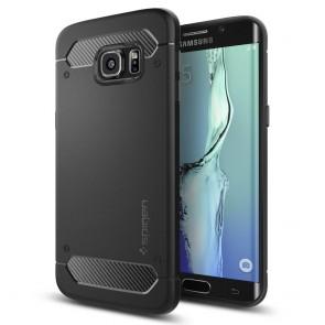 Spigen Galaxy S6 Edge Plus Case Capsule Ultra Rugged Black