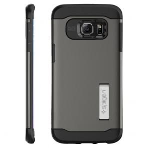 Spigen  Galaxy S6 Edge Plus Case Slim Armor Gunmetal