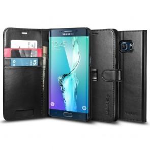 Spigen Galaxy S6 Edge Plus Case Wallet S Black