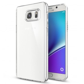 Spigen Galaxy Note 5 Case Liquid Crystal Crystal Clear