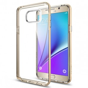 Spigen  Galaxy Note 5 Case Neo Hybrid Crystal Champagne Gold