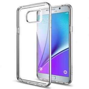 Spigen  Galaxy Note 5 Case Neo Hybrid Crystal Satin Silver
