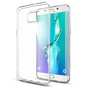 Spigen Galaxy S6 Edge Plus Case Liquid Crystal Crystal Clear