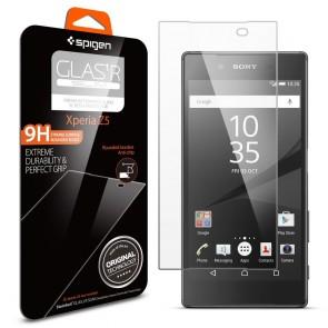 """Spigen Sony Xperia Z5 """"Glas. tR SLIM"""" Oleophobic"""
