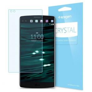 Spigen LG V10 Screen Protector LCD Film Crystal CR  Crystal