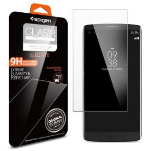 Spigen LG V10 Screen Protector Glas. tR SLIM Crystal