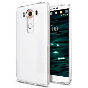 Spigen LG V10 Case Ultra Hybrid Crystal Black