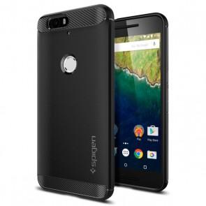 Spigen Nexus 6P Case Rugged Capsule Black