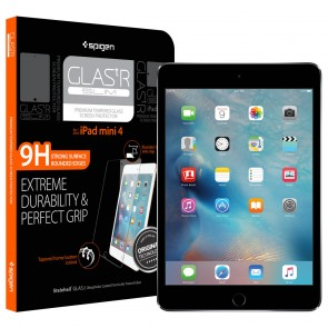 Spigen iPad Mini 4 Screen Protector Tempered Glass