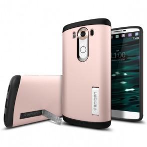 Spigen LG V10 Case Slim Armor Rose Gold