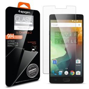 Spigen Glas. tR SLIM OnePlus 2 - Clear