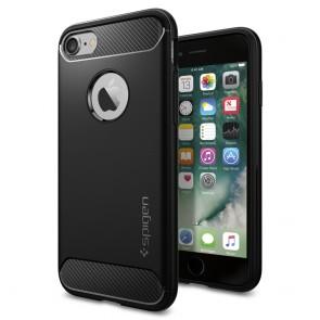 Spigen iPhone 7/8 Rugged Armor Case Black