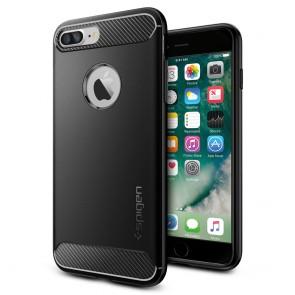 Spigen iPhone 8 Plus/7 Plus Rugged Armor Case Black