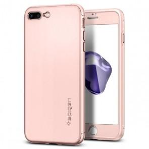 Spigen iPhone 7 Plus Thin Fit 360 Rose Gold