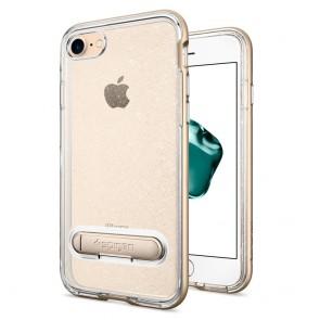 Spigen iPhone 7/8 Crystal Hybrid Glitter Gold Quartz