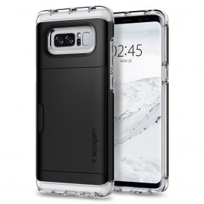 Spigen Samsung Galaxy Note 8 Crystal Wallet Black