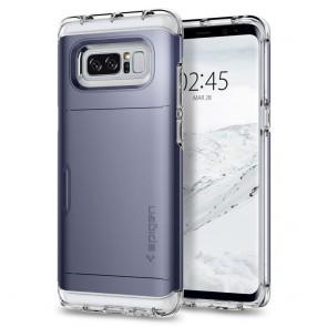 Spigen Samsung Galaxy Note 8 Crystal Wallet Orchid Gray