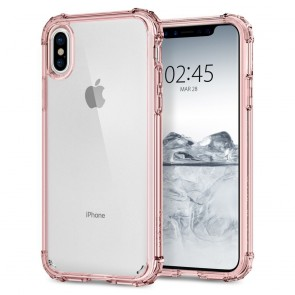 Spigen Apple iPhone X Crystal Shell Rose Crystal